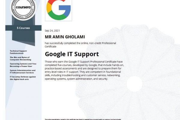 google it support